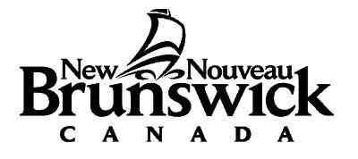 Province Nouveau-Brunswick