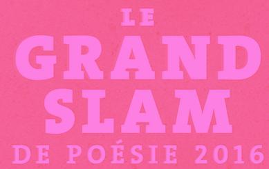 Le Grand slam de poésie 2016 - 10 ans