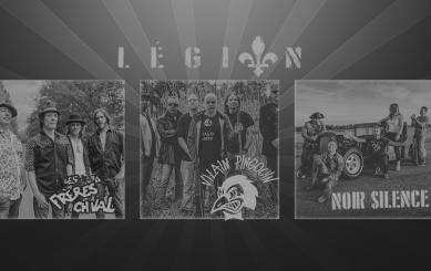 Légion avec les Frères à Ch'val, Vilain Pingouin et Noir Silence